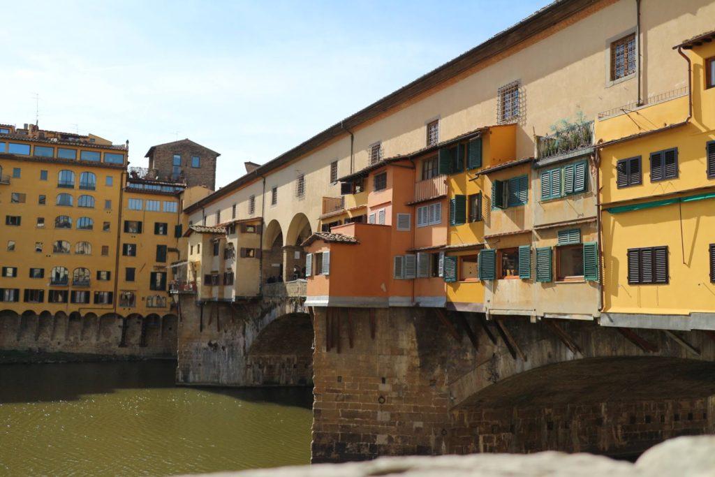 イタリア・フィレンツェ「ヴェッキオ橋」