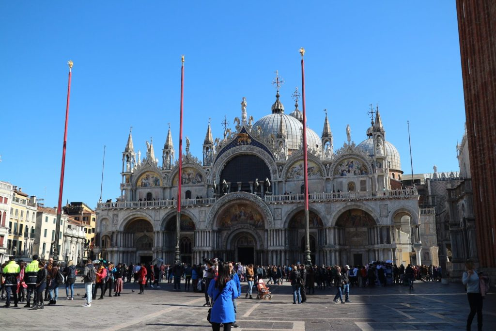 イタリア・ヴェネツィア「サン・マルコ寺院」