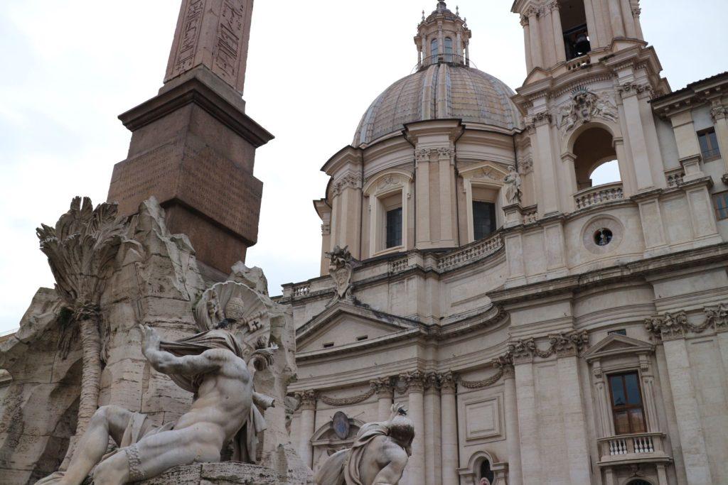 四大河の噴水 イタリア・ローマ「ナヴォーナ広場」