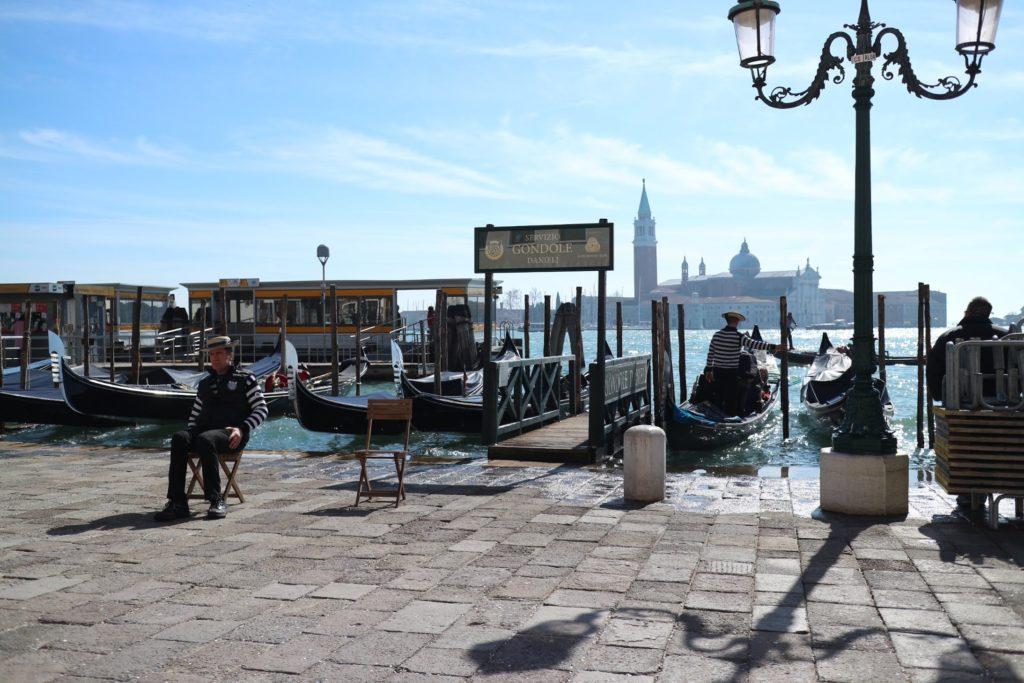 イタリア・ヴェネツィア 水上バス乗り場
