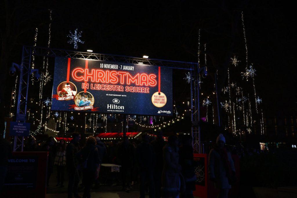 ロンドン クリスマスマーケット