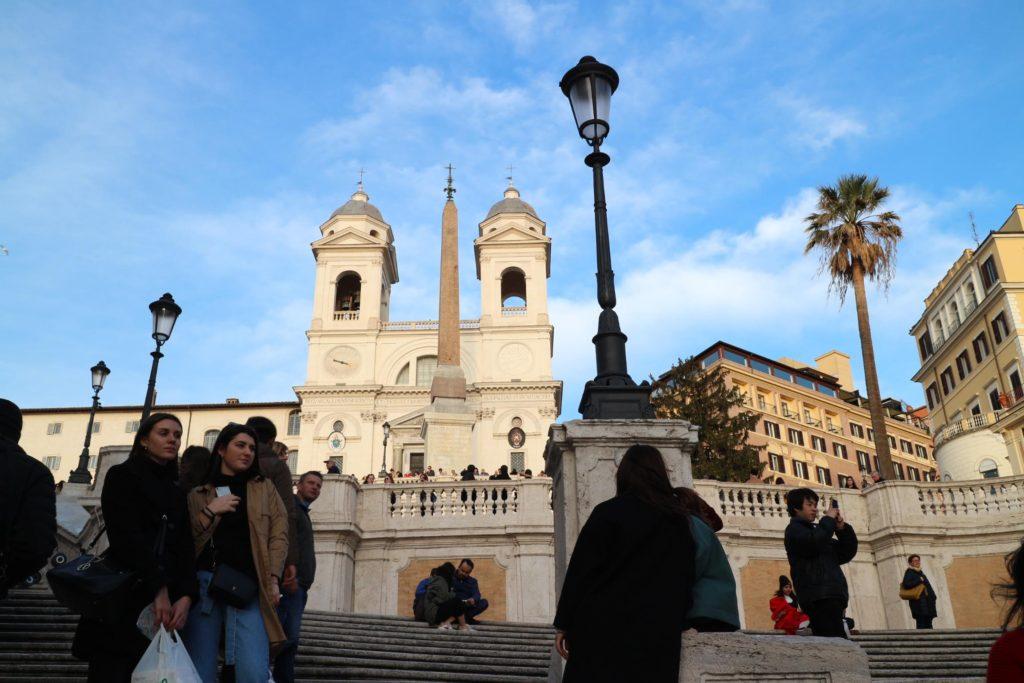 イタリア・ローマ「スペイン広場」