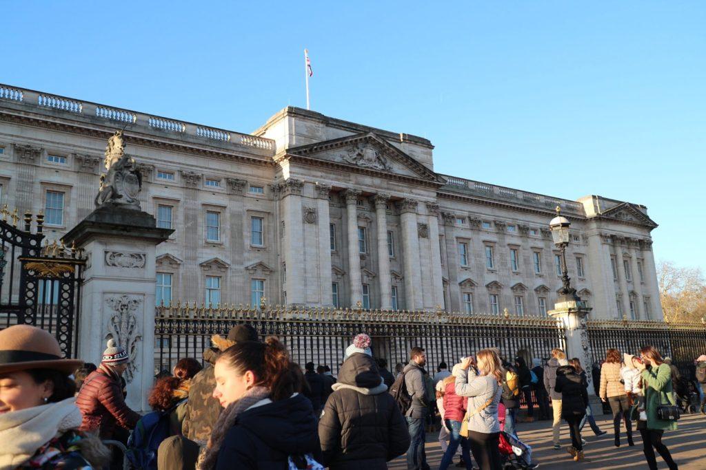 イギリス・ロンドン「バッキンガム宮殿」