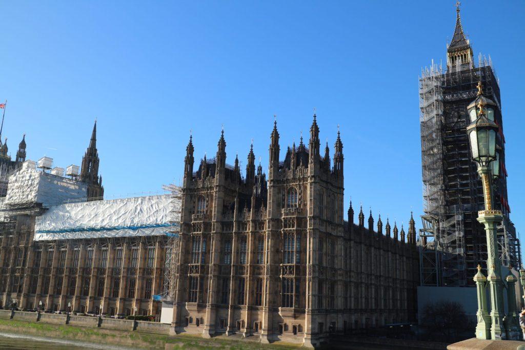 イギリス・ロンドン「ウェストミンスター宮殿」
