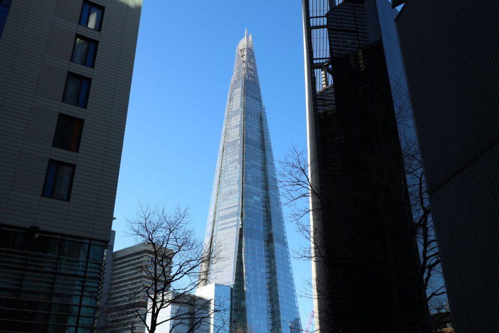 イギリス・ロンドン「ザ・シャード」
